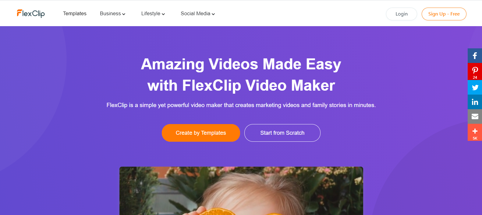 [FlexClip] I searched for an online tool that allows you to edit videos like PowerPoint